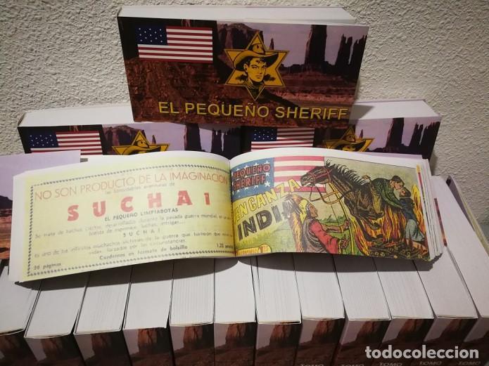 Tebeos: EL PEQUEÑO SHERIFF - COLECCIÓN COMPLETA Y FACSIMILAR (270 Tebeos de 36 pp.en 16 tomos ) - Foto 11 - 194215896