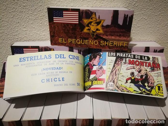 Tebeos: EL PEQUEÑO SHERIFF - COLECCIÓN COMPLETA Y FACSIMILAR (270 Tebeos de 36 pp.en 16 tomos ) - Foto 12 - 194215896