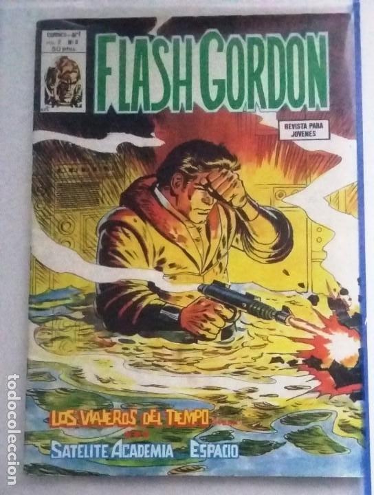 FLASH GORDON ,LOS VIAJEROS DEL TIEMPO VOL. 2 Nº8 (Tebeos y Comics - Hispano Americana - Flash Gordon)