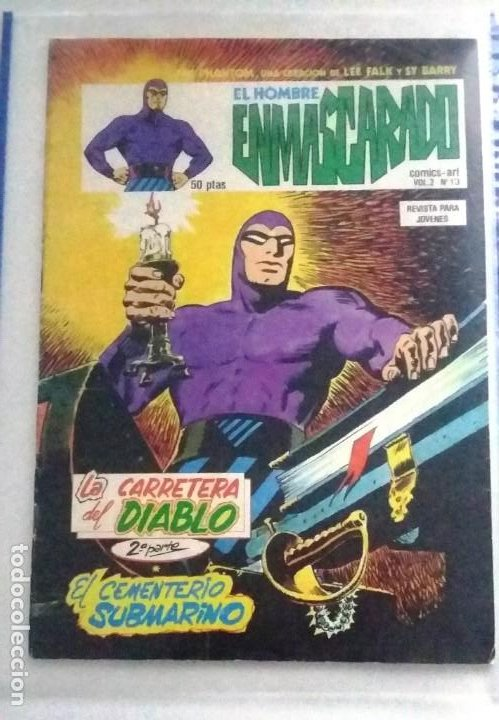 EL HOMBRE ENMASCARADO LA CARRETERA DEL DIABLO VOL. 2 Nº 13 (Tebeos y Comics - Hispano Americana - Hombre Enmascarado)
