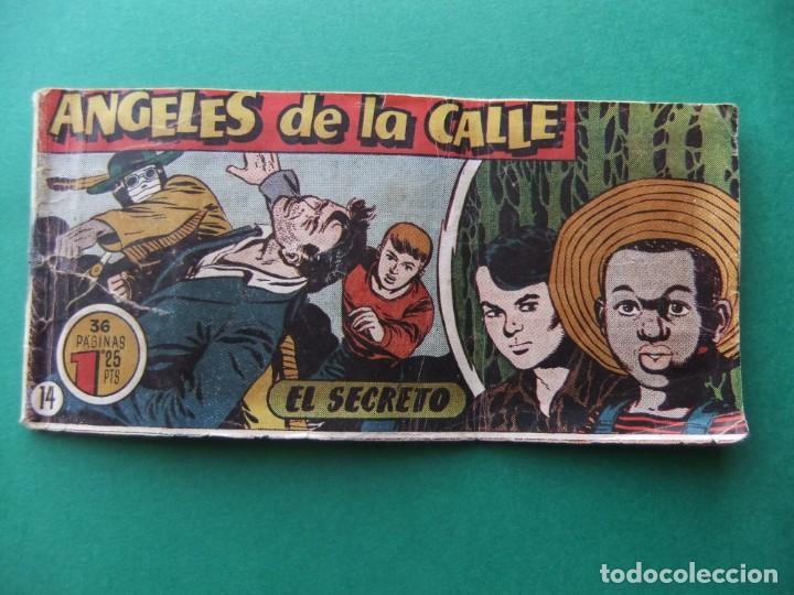 ANGELES DE LA CALLE Nº 14 HISPANO AMERICANA (Tebeos y Comics - Hispano Americana - Otros)
