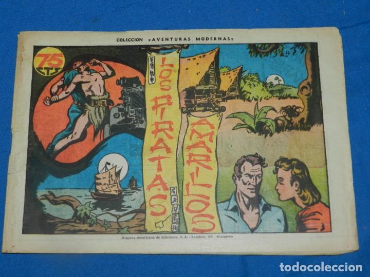 (M1) AVENTURAS MODERNAS - LOS PIRATAS AMARILLOS, EDT HISPANO AMERICA, SEÑALES DE USO NORMALES (Tebeos y Comics - Hispano Americana - Otros)