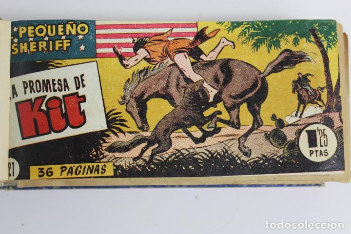 Tebeos: COM-194.PEQUEÑO SHERIFF. 3 TOMOS . FINAL AÑOS 40. SE ESPECIFICAN NUMEROS DE TOMO. HISPANO AMERICANA. - Foto 2 - 194351742