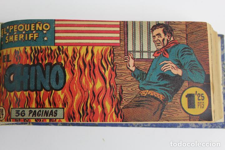 Tebeos: COM-194.PEQUEÑO SHERIFF. 3 TOMOS . FINAL AÑOS 40. SE ESPECIFICAN NUMEROS DE TOMO. HISPANO AMERICANA. - Foto 3 - 194351742