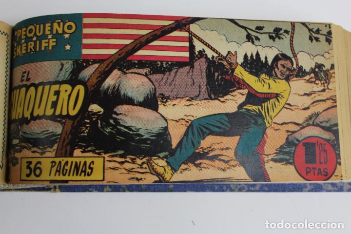 Tebeos: COM-194.PEQUEÑO SHERIFF. 3 TOMOS . FINAL AÑOS 40. SE ESPECIFICAN NUMEROS DE TOMO. HISPANO AMERICANA. - Foto 4 - 194351742