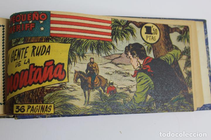Tebeos: COM-194.PEQUEÑO SHERIFF. 3 TOMOS . FINAL AÑOS 40. SE ESPECIFICAN NUMEROS DE TOMO. HISPANO AMERICANA. - Foto 6 - 194351742