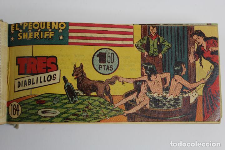 Tebeos: COM-194.PEQUEÑO SHERIFF. 3 TOMOS . FINAL AÑOS 40. SE ESPECIFICAN NUMEROS DE TOMO. HISPANO AMERICANA. - Foto 8 - 194351742