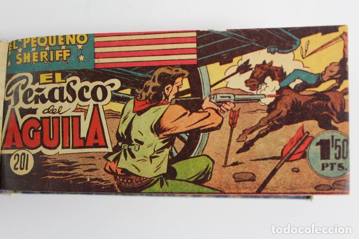 Tebeos: COM-194.PEQUEÑO SHERIFF. 3 TOMOS . FINAL AÑOS 40. SE ESPECIFICAN NUMEROS DE TOMO. HISPANO AMERICANA. - Foto 12 - 194351742