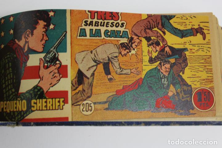 Tebeos: COM-194.PEQUEÑO SHERIFF. 3 TOMOS . FINAL AÑOS 40. SE ESPECIFICAN NUMEROS DE TOMO. HISPANO AMERICANA. - Foto 14 - 194351742