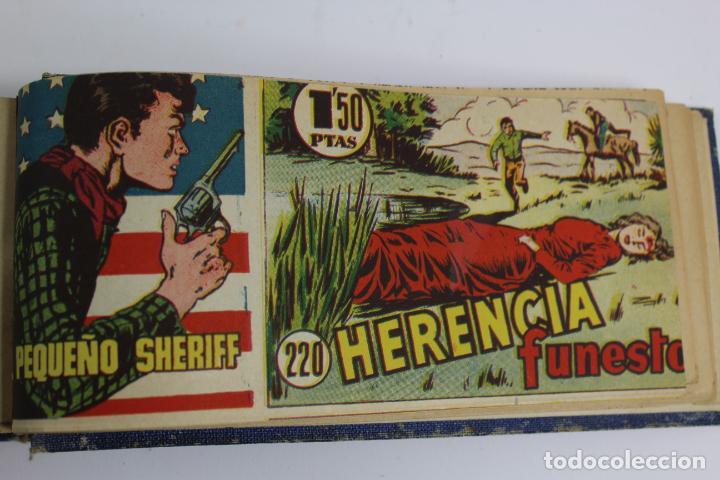 Tebeos: COM-194.PEQUEÑO SHERIFF. 3 TOMOS . FINAL AÑOS 40. SE ESPECIFICAN NUMEROS DE TOMO. HISPANO AMERICANA. - Foto 17 - 194351742