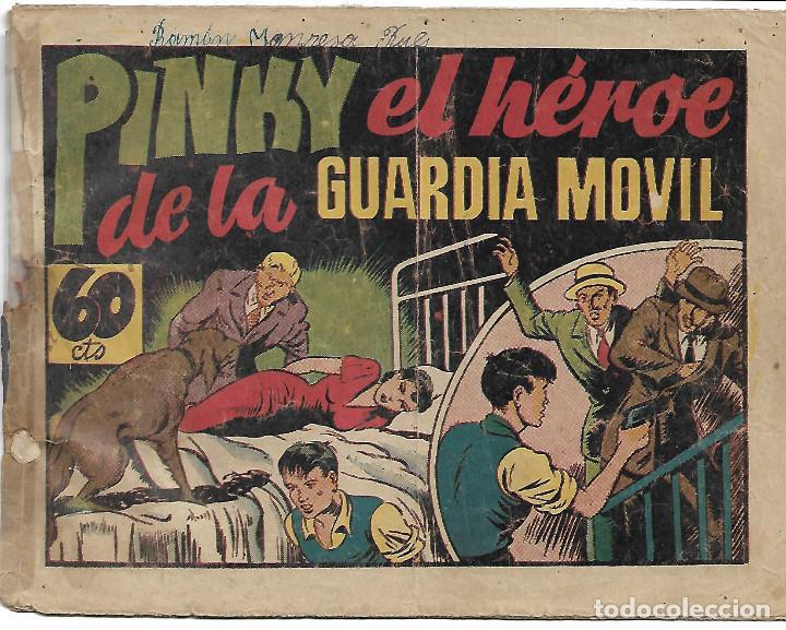 PINKY DE LA GUARDIA MOVIL - ORIGINAL (Tebeos y Comics - Hispano Americana - Otros)