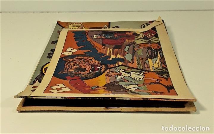 Tebeos: EDICIONES HISPANO AMERICANA. 3 EJEMPLARES. BARCELONA. AÑOS 40. - Foto 9 - 162131302
