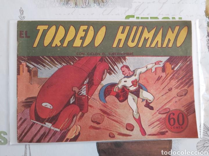 CICLÓN EL SÚPER HOMBRE SUPERMAN ORIGINAL AÑOS 40 (Tebeos y Comics - Hispano Americana - Otros)