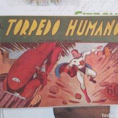 Tebeos: CICLÓN EL SÚPER HOMBRE SUPERMAN ORIGINAL AÑOS 40. Lote 194587697
