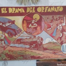 Tebeos: CICLÓN EL SÚPER HOMBRE SUPERMAN ORIGINAL AÑOS 40. Lote 194587981