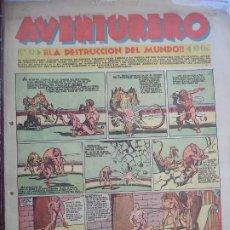 Tebeos: AVENTURERO Nº32 DEL 17 DE DICIEMBRE DE 1935 OCHO PAGINAS. Lote 194779756