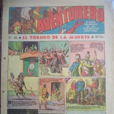 Tebeos: AVENTURERO Nº 46 DE 24 MARZO DE 1936 8 HOJAS. Lote 194783561
