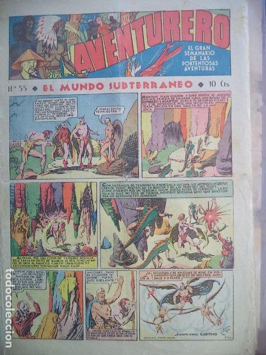 AVNTURERO Nº 55 DEL26 DE MAYO DE 1936 8 PAGINAS (Tebeos y Comics - Hispano Americana - Aventurero)