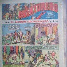 Tebeos: AVNTURERO Nº 55 DEL26 DE MAYO DE 1936 8 PAGINAS. Lote 194784158