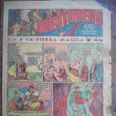 Tebeos: AVENTURERO Nº 59 DEL23 DE JUNIO DE 1936 8 HOJAS. Lote 194784381
