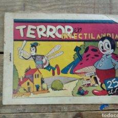 Tebeos: TEBEO TERROR EN INSECTILANDIA. HISPANO AMERICANA DE EDICIONES. Lote 194788787