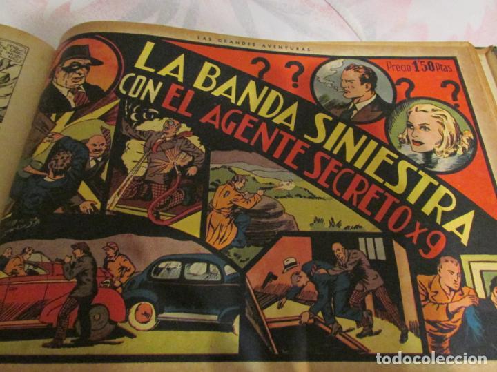 Tebeos: EL ENMASCARADO - JORGE - MERLIN - AGENTE X 9 TOMO - Foto 2 - 194898725
