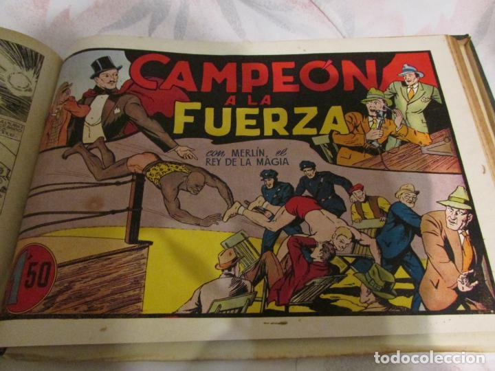 Tebeos: EL ENMASCARADO - JORGE - MERLIN - AGENTE X 9 TOMO - Foto 4 - 194898725
