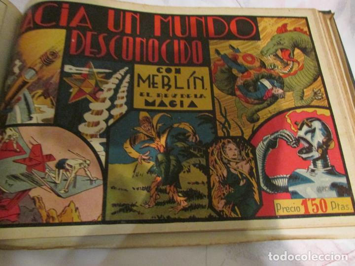 Tebeos: EL ENMASCARADO - JORGE - MERLIN - AGENTE X 9 TOMO - Foto 6 - 194898725
