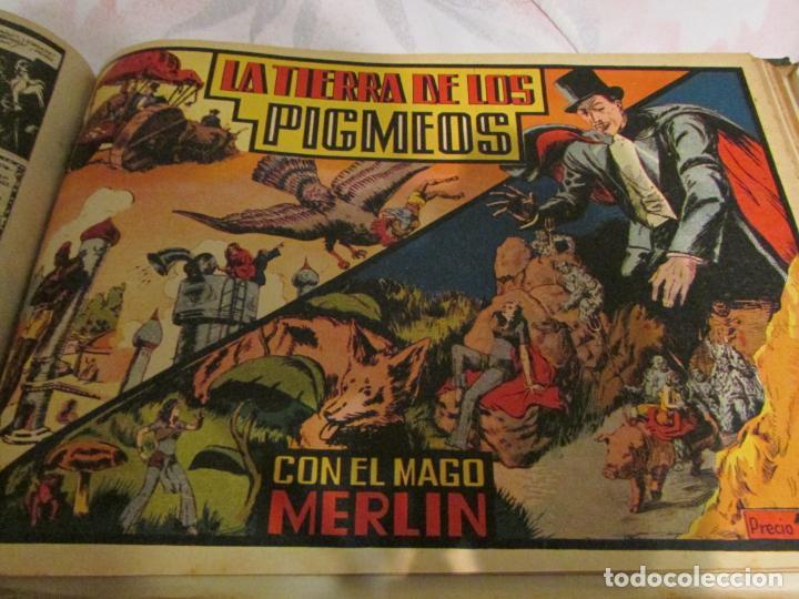 Tebeos: EL ENMASCARADO - JORGE - MERLIN - AGENTE X 9 TOMO - Foto 8 - 194898725