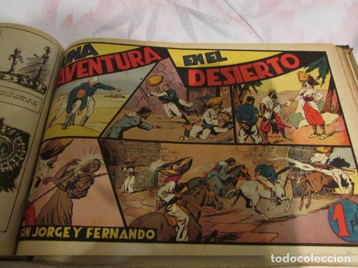 Tebeos: EL ENMASCARADO - JORGE - MERLIN - AGENTE X 9 TOMO - Foto 10 - 194898725