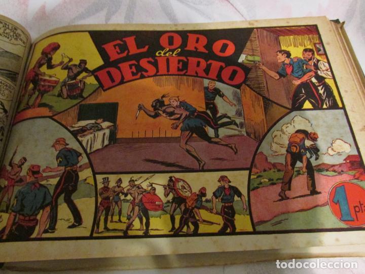 Tebeos: EL ENMASCARADO - JORGE - MERLIN - AGENTE X 9 TOMO - Foto 14 - 194898725