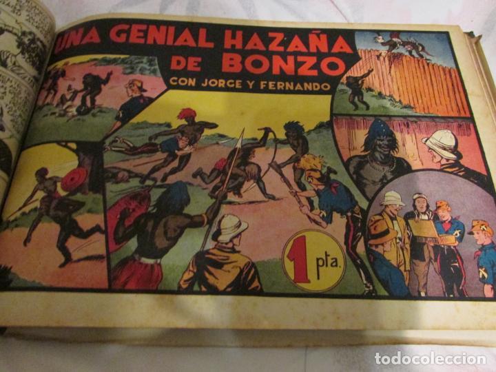 Tebeos: EL ENMASCARADO - JORGE - MERLIN - AGENTE X 9 TOMO - Foto 15 - 194898725