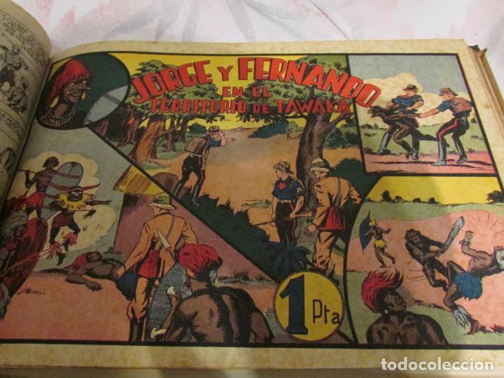 Tebeos: EL ENMASCARADO - JORGE - MERLIN - AGENTE X 9 TOMO - Foto 16 - 194898725