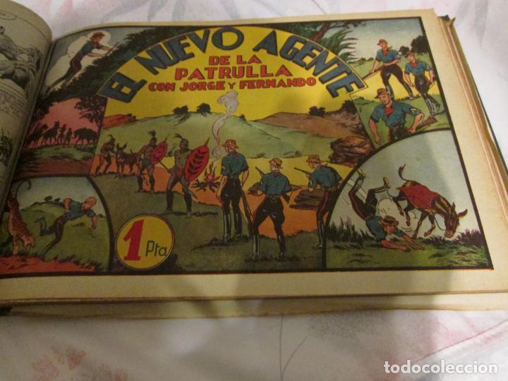 Tebeos: EL ENMASCARADO - JORGE - MERLIN - AGENTE X 9 TOMO - Foto 17 - 194898725