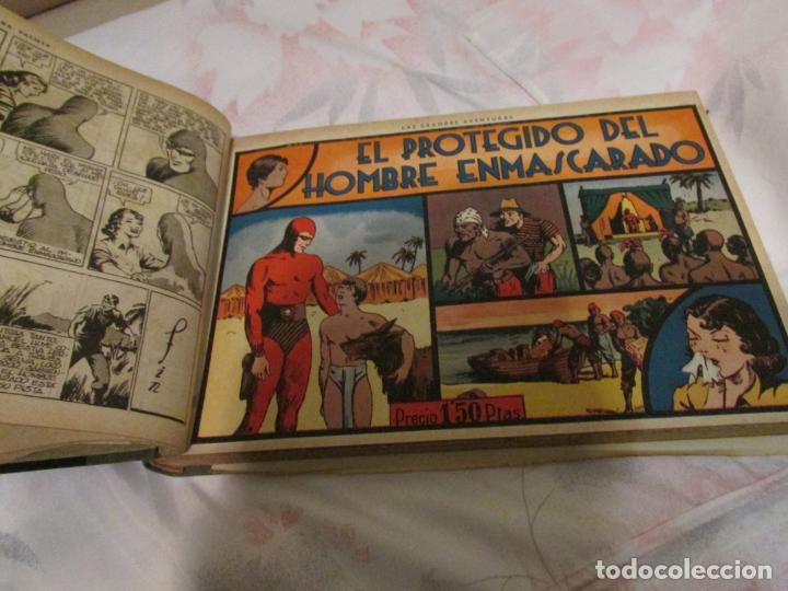 Tebeos: EL ENMASCARADO - JORGE - MERLIN - AGENTE X 9 TOMO - Foto 22 - 194898725