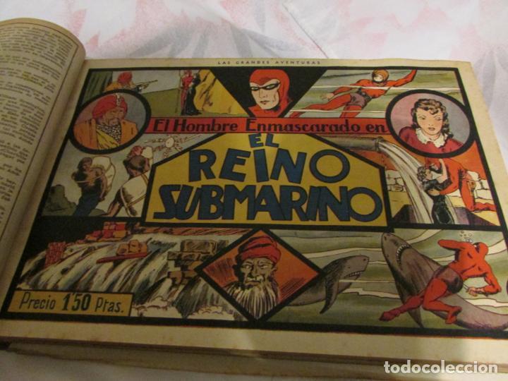 Tebeos: EL ENMASCARADO - JORGE - MERLIN - AGENTE X 9 TOMO - Foto 26 - 194898725