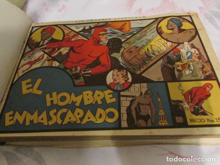 Tebeos: EL ENMASCARADO - JORGE - MERLIN - AGENTE X 9 TOMO - Foto 27 - 194898725