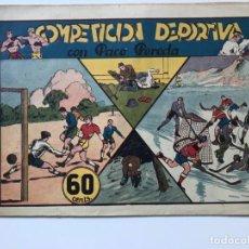 Tebeos: COMPETICION DEPORTIVA CON PACO PEREDA.HISPANO AMERICANA . Lote 194933035