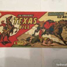 Tebeos: COMIC TEXAS BILL Nº 121 CUADERNILLO OESTE 28 PAGINAS . Lote 194956055