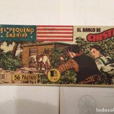 Tebeos: COMIC EL PEQUEÑO SHERIFF Nº 136 DEL OESTE . Lote 194956245