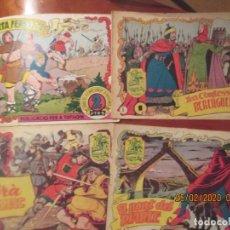 Tebeos: HISTORIA I LLEGENDA -HISPANO AMERICANA DE EDICIONES -LOTE DE 4 -NUMEROS: 1,16,4,5. Lote 195154663