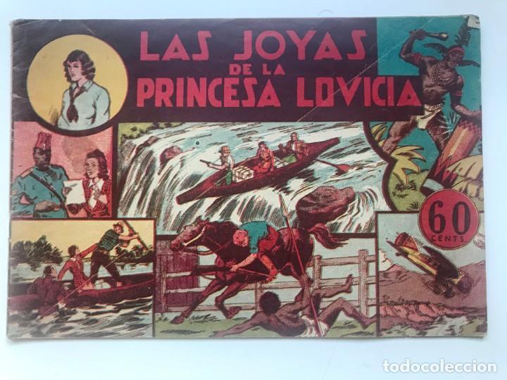 LAS JOYAS DE LA PRINCESA LOVICIA. HISPANO AMERICANA (Tebeos y Comics - Hispano Americana - Jorge y Fernando)