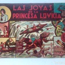 Tebeos: LAS JOYAS DE LA PRINCESA LOVICIA. HISPANO AMERICANA . Lote 195297242