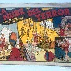 Tebeos: LA NUBE DEL TERROR CON CARLOS EL INTREPIDO . HISPANO AMERICANA. Lote 195298198