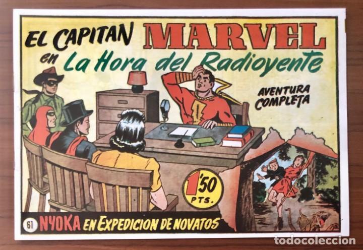 EL CAPITAN MARVEL Nº 61 FACSIMIL. HISPANO AMERICANA. LA HORA DEL RADIOYENTE (Tebeos y Comics - Hispano Americana - Capitán Marvel)