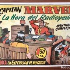 Livros de Banda Desenhada: EL CAPITAN MARVEL Nº 61 FACSIMIL. HISPANO AMERICANA. LA HORA DEL RADIOYENTE. Lote 195548627