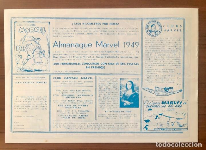 Tebeos: EL CAPITAN MARVEL Nº 61 FACSIMIL. HISPANO AMERICANA. LA HORA DEL RADIOYENTE - Foto 2 - 195548627