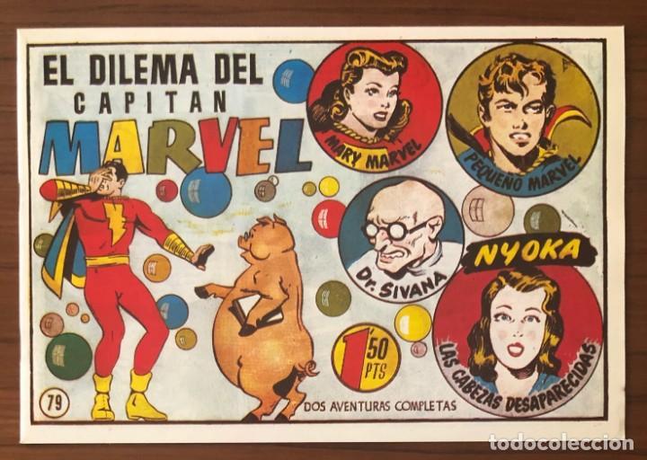 EL CAPITAN MARVEL Nº 79 EL DILEMA DEL CAPITÁN MARVEL. FACSIMIL. HISPANO AMERICANA. (Tebeos y Comics - Hispano Americana - Capitán Marvel)