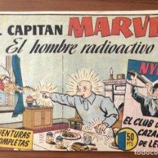 Tebeos: EL CAPITAN MARVEL Nº 76 EL HOMBRE RADIOACTIVO. ORIGINAL Y MUY DIFICIL. HISPANO AMERICANA.. Lote 195552003