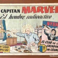 Tebeos: EL CAPITAN MARVEL Nº 76 EL HOMBRE RADIOACTIVO. ORIGINAL Y MUY DIFICIL. HISPANO AMERICANA.. Lote 195552858